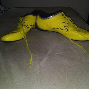 Yellow Puma Ferrari Edition